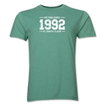 FC Santa Claus Established 1992 Men's T-Shirt (Heather Green)