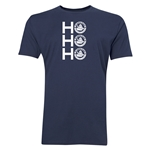 FC Santa Claus Ho, Ho, Ho Men's T-Shirt (Navy)