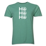 FC Santa Claus Ho, Ho, Ho Men's T-Shirt (Heather Green)