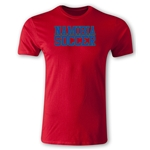 Namibia Soccer Supporter Men's Fashion T-Shirt (Red)