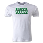 Nigeria Soccer Supporter Men's Fashion T-Shirt (White)