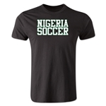 Nigeria Soccer Supporter Men's Fashion T-Shirt (Black)