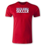 South Korea Soccer Supporter Men's Fashion T-Shirt (Red)