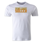 Ivory Coast Soccer Supporter Men's Fashion T-Shirt (White)