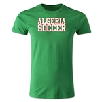 Algeria Soccer Supporter Men's Fashion T-Shirt (Green)