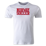 Norway Soccer Supporter Men's Fashion T-Shirt (White)
