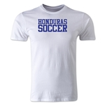 Honduras Soccer Supporter Men's Fashion T-Shirt (White)