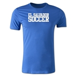 El Salvador Soccer Supporter Men's Fashion T-Shirt (Royal)