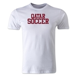 Qatar Soccer Supporter Men's Fashion T-Shirt (White)