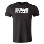 New Zealand Soccer Supporter Men's Fashion T-Shirt (Black)