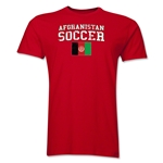 Afghanistan Soccer T-Shirt (Red)
