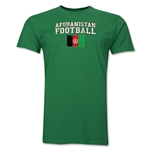 Afghanistan Football T-Shirt (Green)