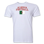 Algeria Football T-Shirt (White)