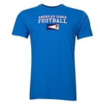 American Samoa Football T-Shirt (Heather Royal)