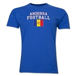 Andorra Football T-Shirt (Royal)