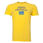 Aruba Football T-Shirt (Yellow)