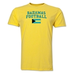 Bahamas Football T-Shirt (Yellow)
