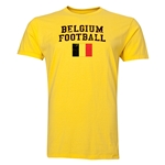 Belgium Football T-Shirt (Yellow)