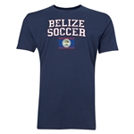 Belize Soccer T-Shirt (Navy)