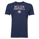 Belize Football T-Shirt (Navy)