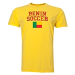 Benin Soccer T-Shirt (Yellow)