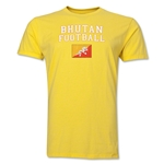 Bhutan Football T-Shirt (Yellow)