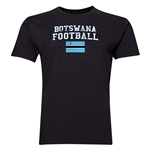 Botswana Football T-Shirt (Black)