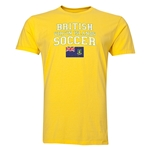 British Virgin Islands Soccer T-Shirt (Yellow)