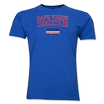 Cape Verde Soccer T-Shirt (Royal)