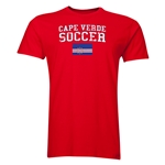 Cape Verde Soccer T-Shirt (Red)