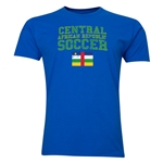 Central African Republic Soccer T-Shirt (Royal)