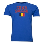 Chad Soccer T-Shirt (Royal)