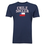 Chile Soccer T-Shirt (Navy)