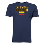 Colombia Soccer T-Shirt (Navy)