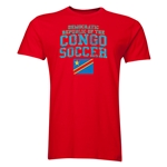 Congo DR Soccer T-Shirt (Red)