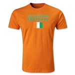 Cote d'Ivoire Football T-Shirt (Orange)