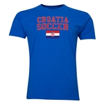 Croatia Soccer T-Shirt (Royal)