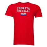 Croatia Football T-Shirt (Red)