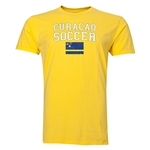 Curacao Soccer T-Shirt (Yellow)