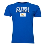 Cyprus Football T-Shirt (Royal)