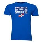 Dominican Republic Soccer T-Shirt (Royal)