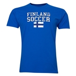 Finland Soccer T-Shirt (Royal)