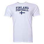 Finland Football T-Shirt (White)