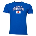 Japan Soccer T-Shirt (Royal)