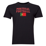 Portugal Football T-Shirt (Black)