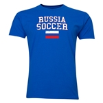 Russia Soccer T-Shirt (Royal)