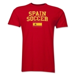 Spain Soccer T-Shirt (Red)