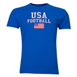 USA Football T-Shirt (Royal)