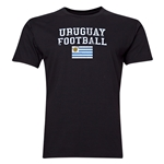 Uruguay Football T-Shirt (Black)
