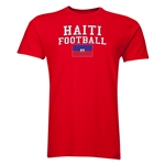 Haiti Football T-Shirt (Red)